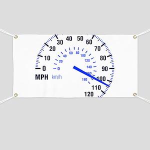 Racing - Speeding - MPH Banner