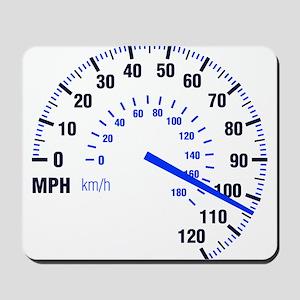 Racing - Speeding - MPH Mousepad