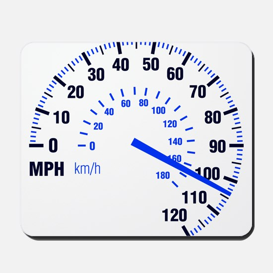 Racing - Speeding - MPH Mousepad