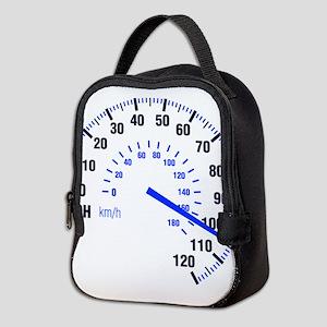 Racing - Speeding - MPH Neoprene Lunch Bag