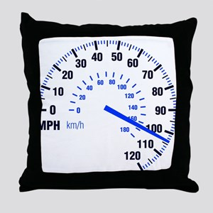 Racing - Speeding - MPH Throw Pillow