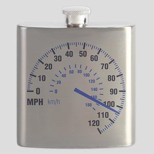 Racing - Speeding - MPH Flask
