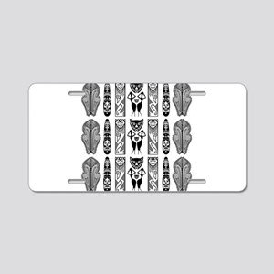 African Art - Tribal Aluminum License Plate