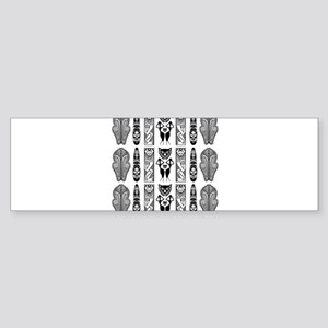 African Art - Tribal Bumper Sticker