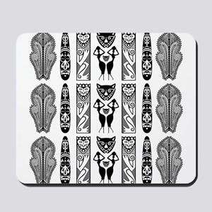 African Art - Tribal Mousepad