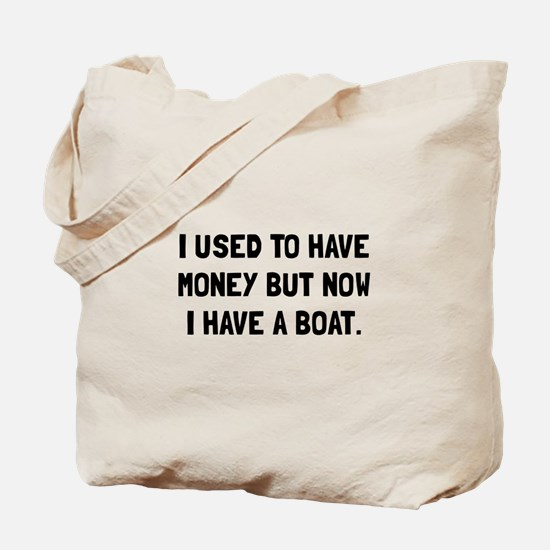 Money Now Boat Tote Bag