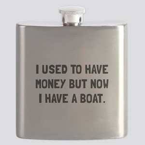 Money Now Boat Flask