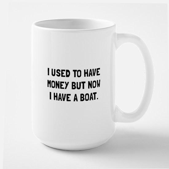 Money Now Boat Mugs