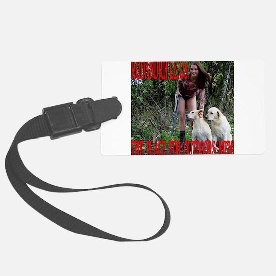 RodandRifle.US Hunting Dogs Luggage Tag