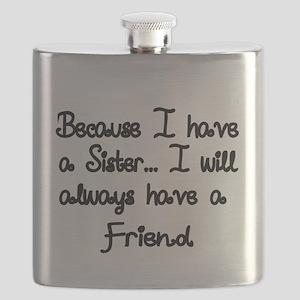 Brother Sister Flasks Cafepress