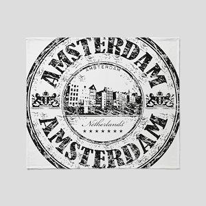Amsterdam Seal Throw Blanket