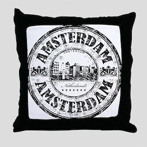 Amsterdam Seal Throw Pillow