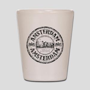 Amsterdam Seal Shot Glass