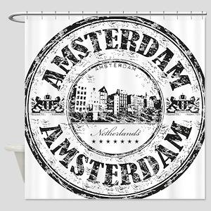 Amsterdam Seal Shower Curtain