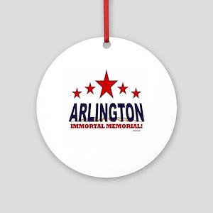 Arlington Immortal Memorial Ornament (Round)