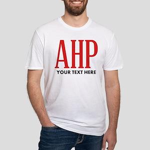 Alpha Eta Rho Personalized Fitted T-Shirt