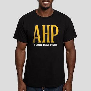 Alpha Eta Rho Personal Men's Fitted T-Shirt (dark)