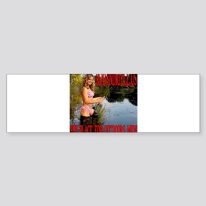RodandRifleUS Beauty Fly Fishing Bumper Sticker