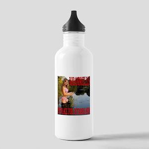 RodandRifleUS Beauty Fly Fishing Water Bottle
