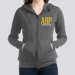 Alpha Eta Rho Personalized Women's Zip Hoodie