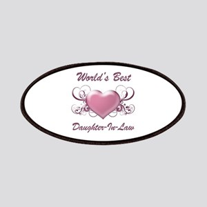 World's Best Daughter-In-Law (Heart) Patches