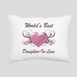 World's Best Daughter-In-Law (Heart) Rectangular C