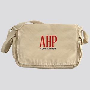 Alpha Eta Rho Personalized Messenger Bag
