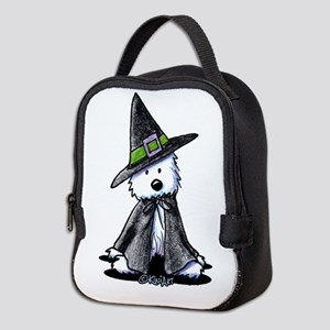 Witchy Westie Neoprene Lunch Bag