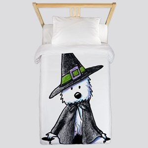 Witchy Westie Twin Duvet