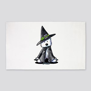 Witchy Westie 3'x5' Area Rug
