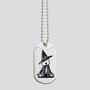 Witchy Westie Dog Tags