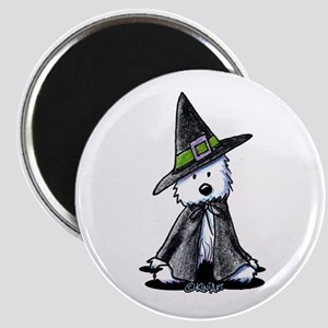 "Witchy Westie 2.25"" Magnet (10 pack)"