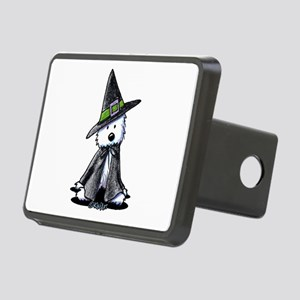 Witchy Westie Rectangular Hitch Cover