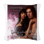 Blaakemore paperback copy Woven Throw Pillow