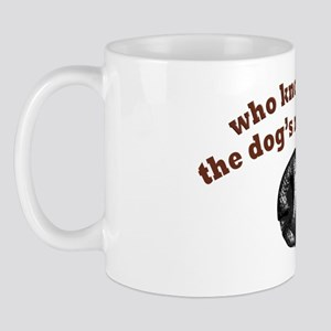 Dogs Nose Knows Mug