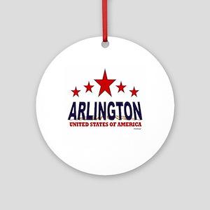 Arlington U.S.A. Ornament (Round)