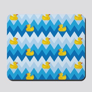 Just Ducky Chevron Pattern Mousepad