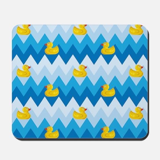 Just Ducky Chevron Pattern Mousepad