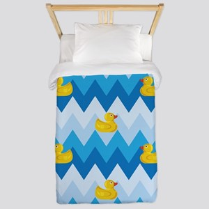 Just Ducky Chevron Pattern Twin Duvet