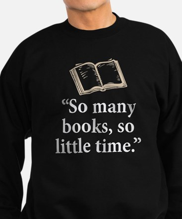 So many books - Sweatshirt (dark)