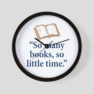 So many books - Wall Clock