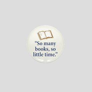 So many books - Mini Button
