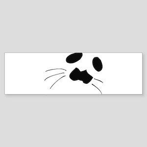 Seal Face Bumper Sticker