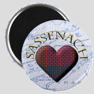 Sassenach Heart Magnet