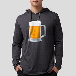 Beer Mug Emoji Mens Hooded Shirt