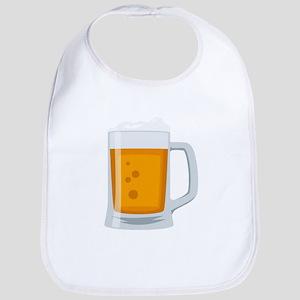 Beer Mug Emoji Cotton Baby Bib
