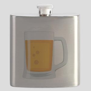 Beer Mug Emoji Flask