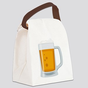 Beer Mug Emoji Canvas Lunch Bag