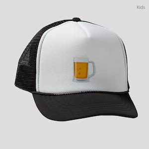 Beer Mug Emoji Kids Trucker hat