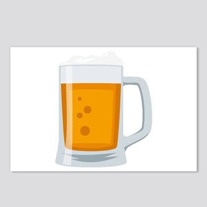 Beer Mug Emoji Postcards (Package of 8)